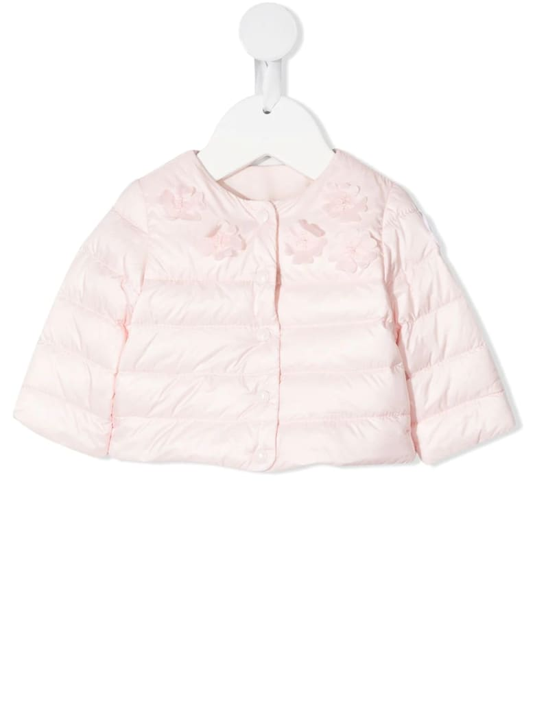 Moncler Light Pink Denisa Newborn Down Jacket