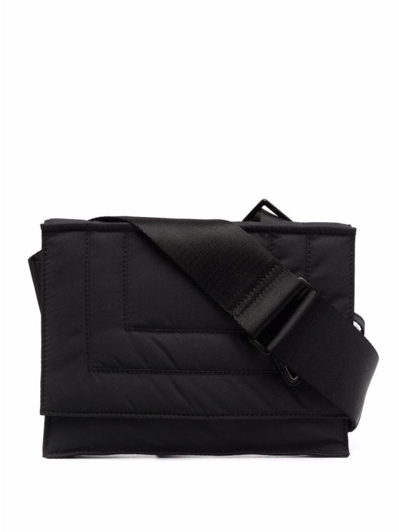 A-COLD-WALL Black Nylon Crossbody Bag With Logo - Black