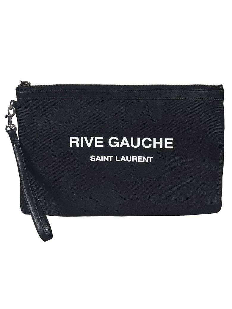 Saint Laurent RIVE GAUCHE Clutch - Black