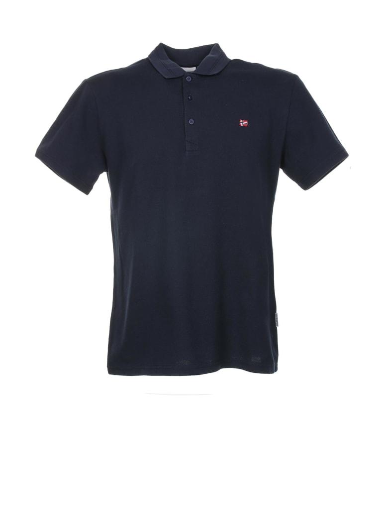 Napapijri Polo Shirt - Blu