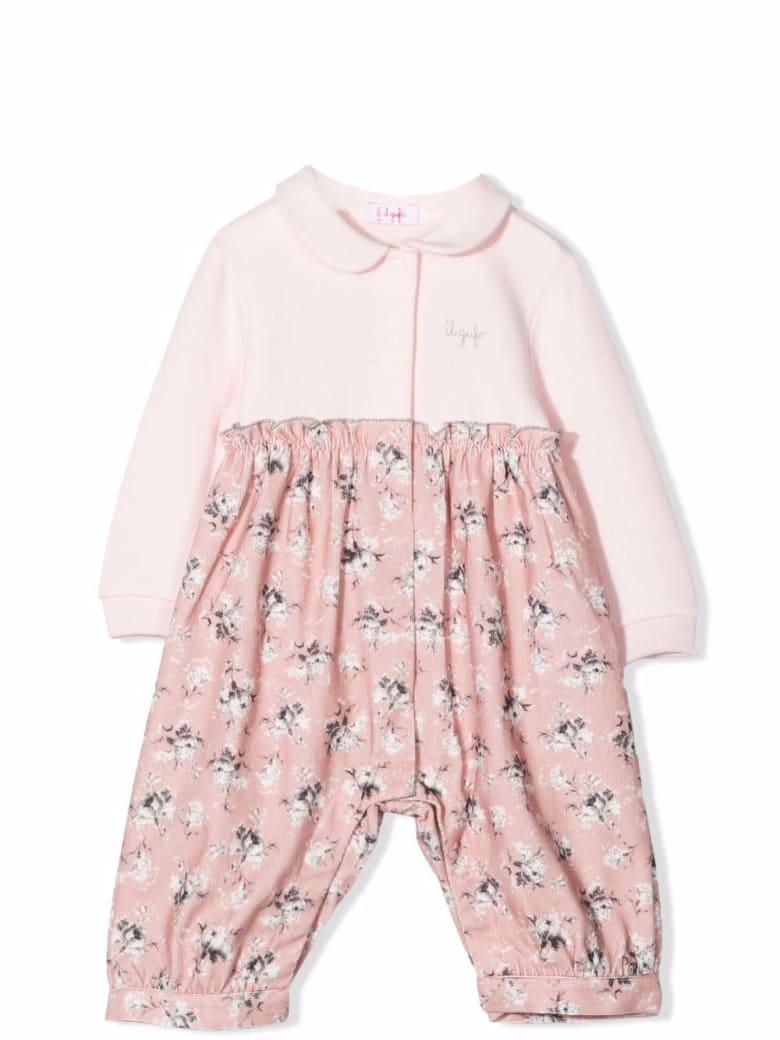 Il Gufo Floral Jumpsuit - Pink