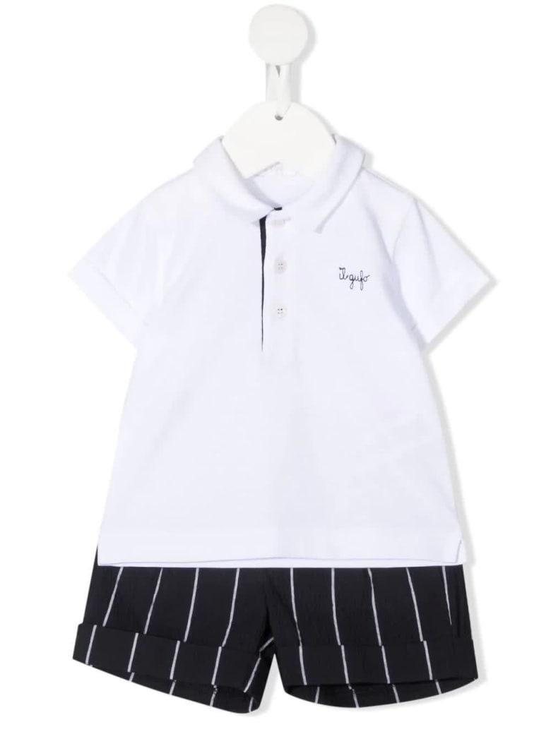 Il Gufo Polo Shirt And Shorts Set