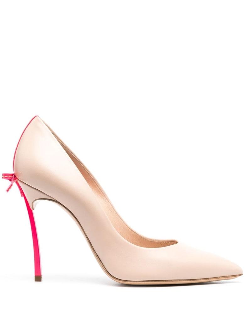 Casadei Blade Penny Pumps - Pink