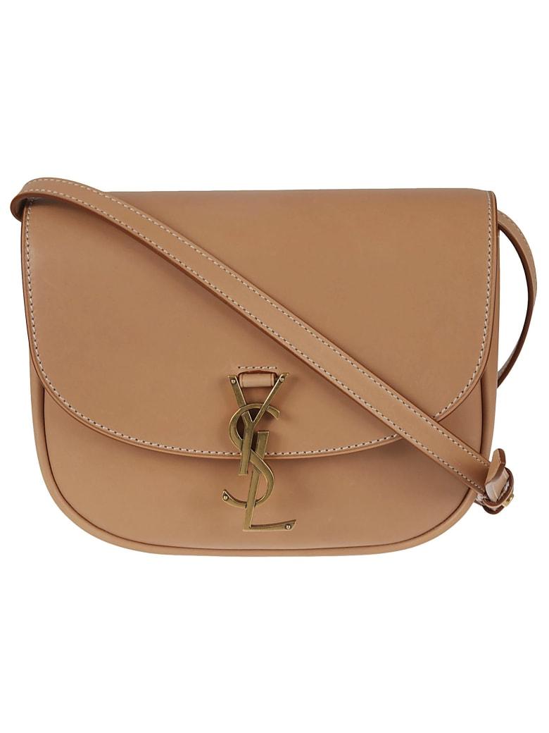 Saint Laurent Kaia Shoulder Bag - Vintage Brown/Gold