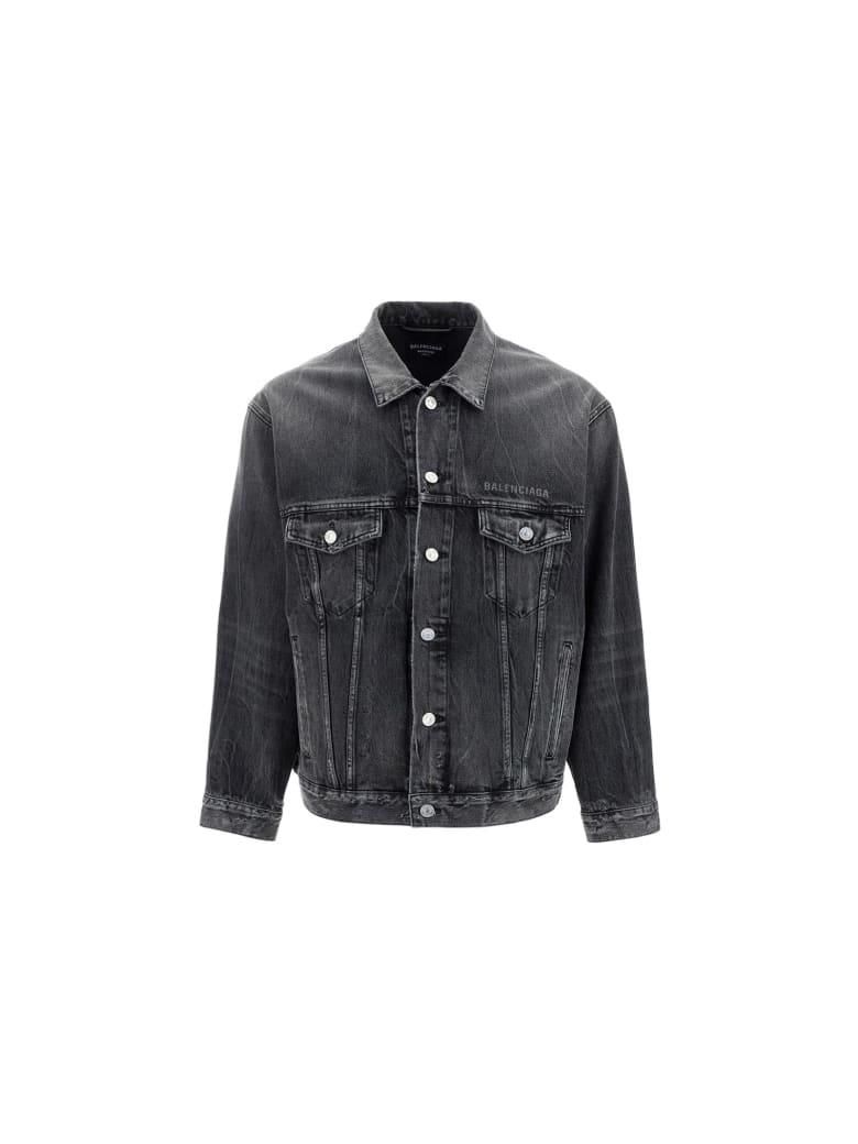 Balenciaga Denim Jacket - Noir/iceberg
