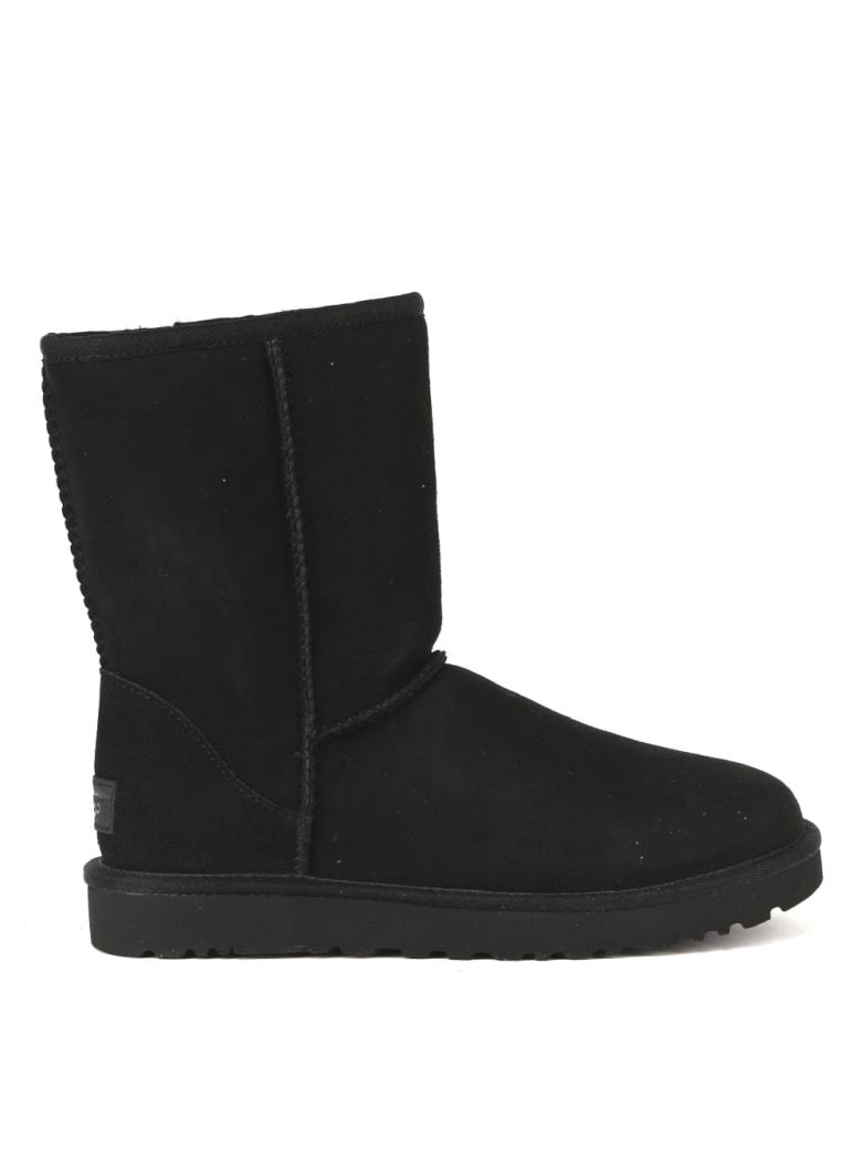 UGG Classic Ultra Mini Black Mutton Boot - Black