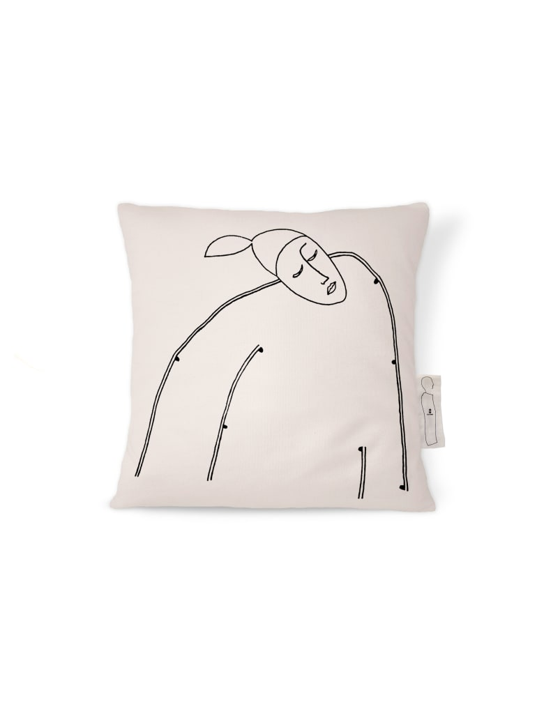 Kiasmo Cushions Alma V - Black/White