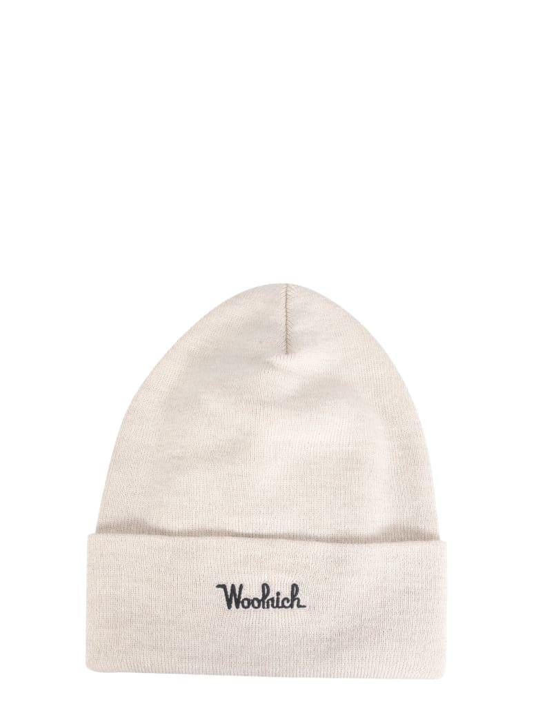 Woolrich Virgin Wool Hat - BIANCO