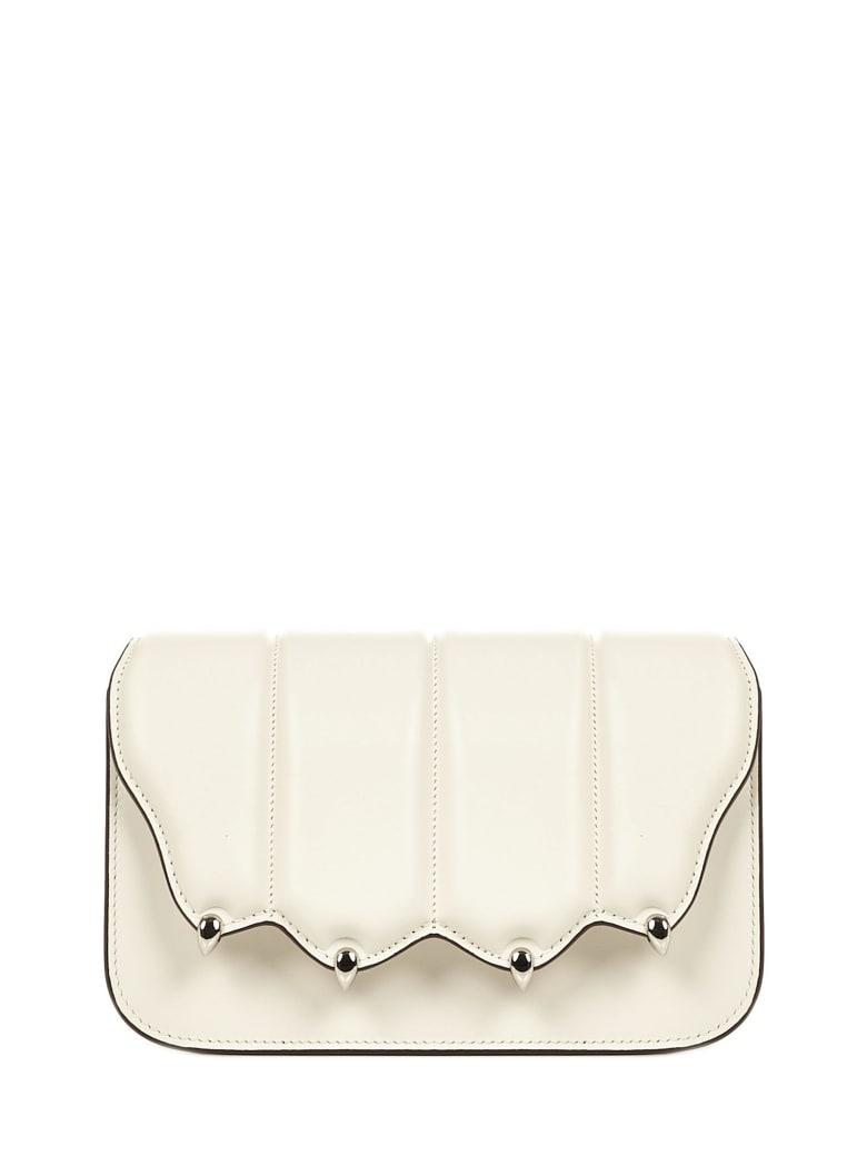 Marco de Vincenzo Griffe Shoulder Bag - White