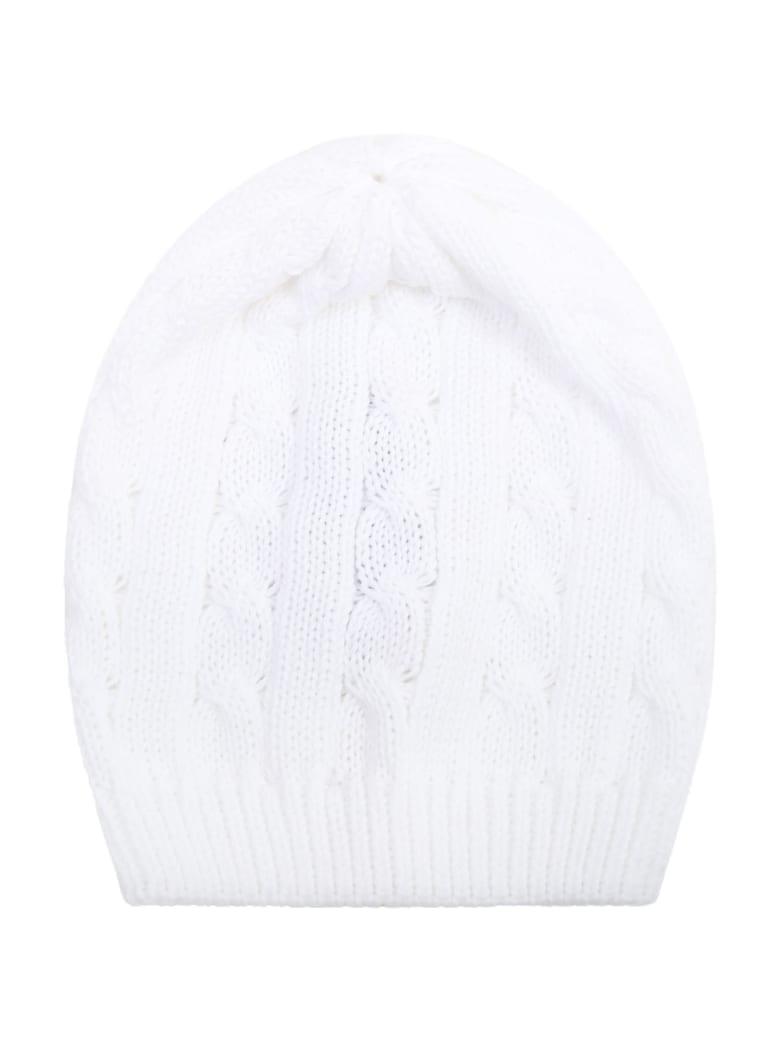 Little Bear White Hat For Babykids - White
