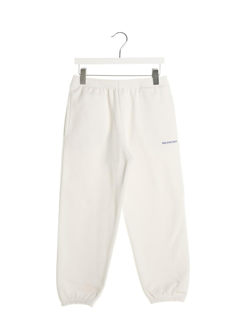 Balenciaga Sweatpants - White