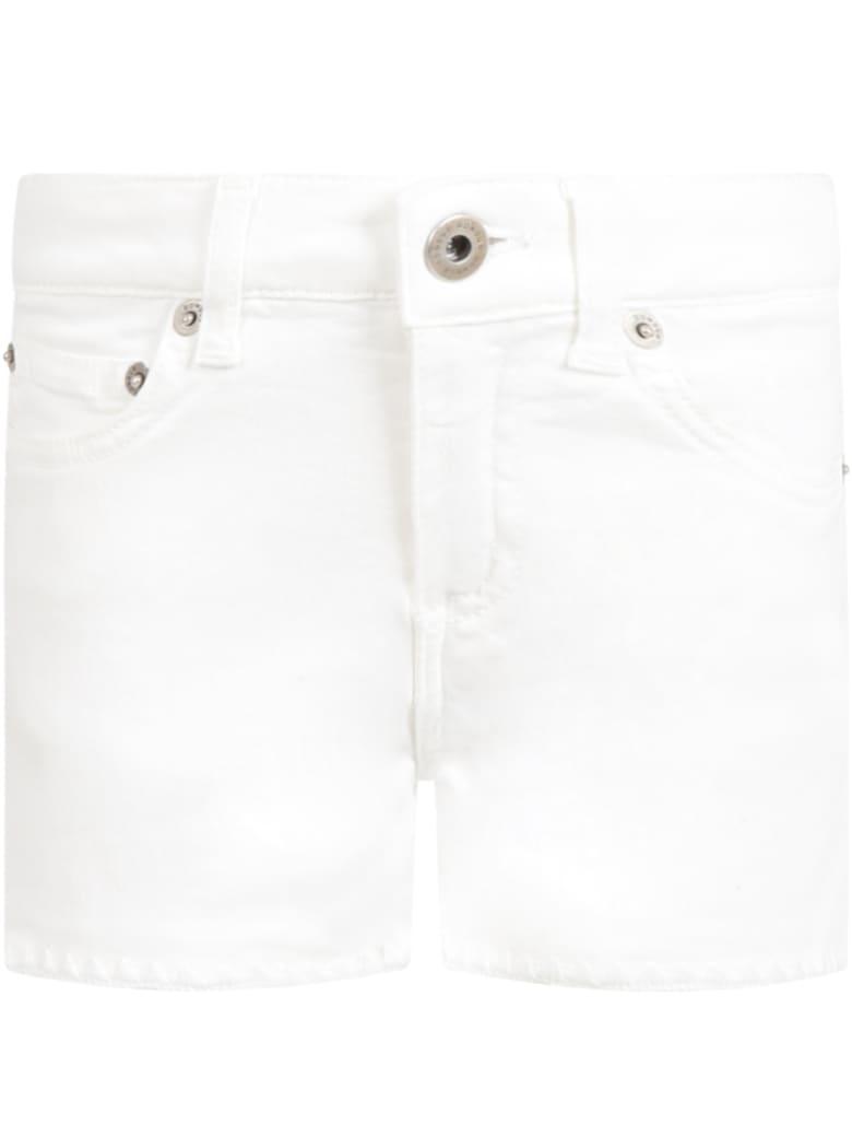 Dondup White ''klum'' Short For Girl - White
