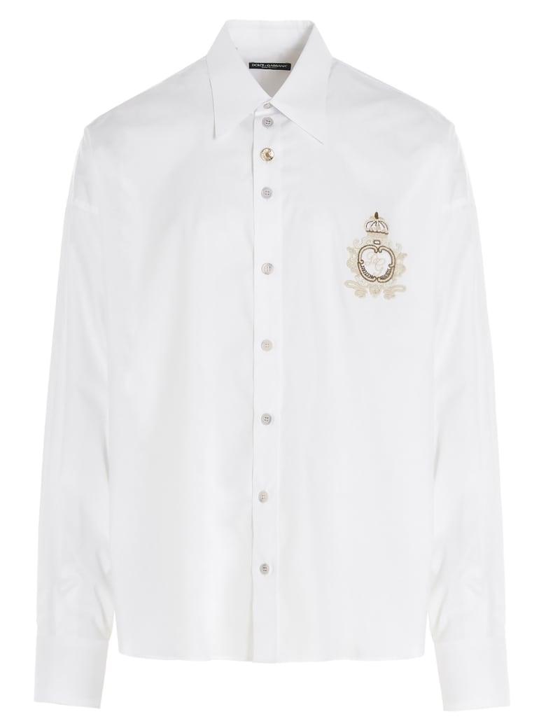 Dolce & Gabbana 'cuore Sacro' Shirt - White