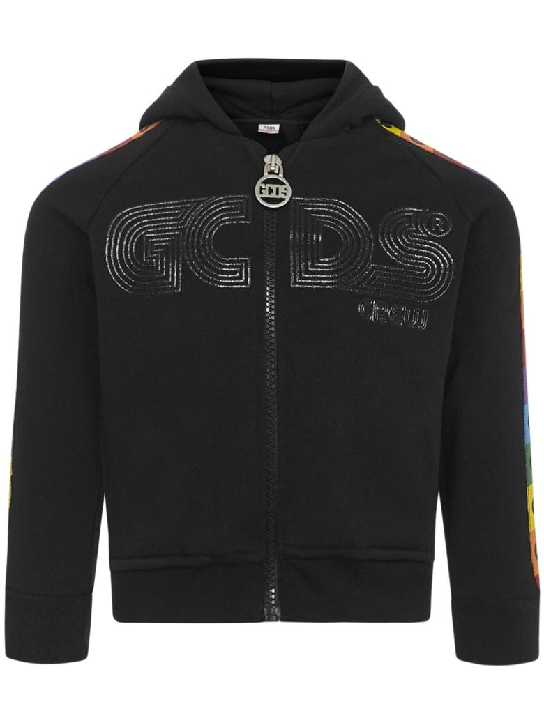 GCDS Mini Gcds Kids Sweatshirt - Black