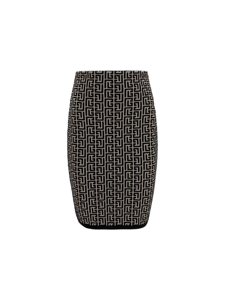 Balmain Skirt - Ivoire/noir