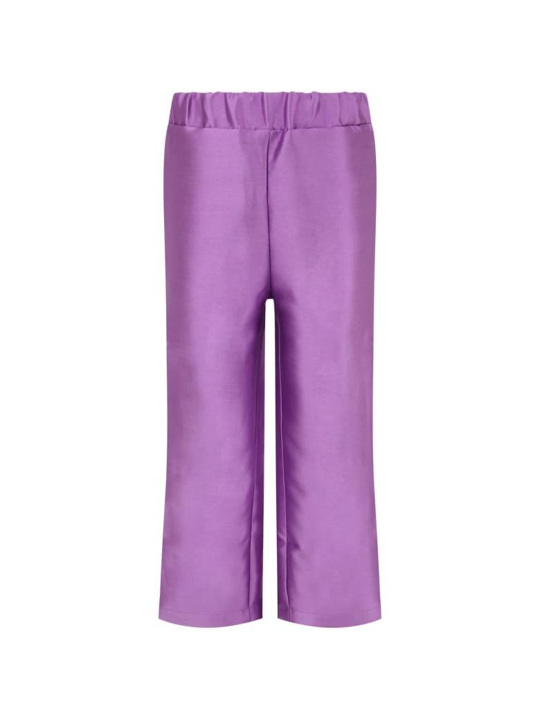 Bo(y)smans Purple Pants For Boy - Violet