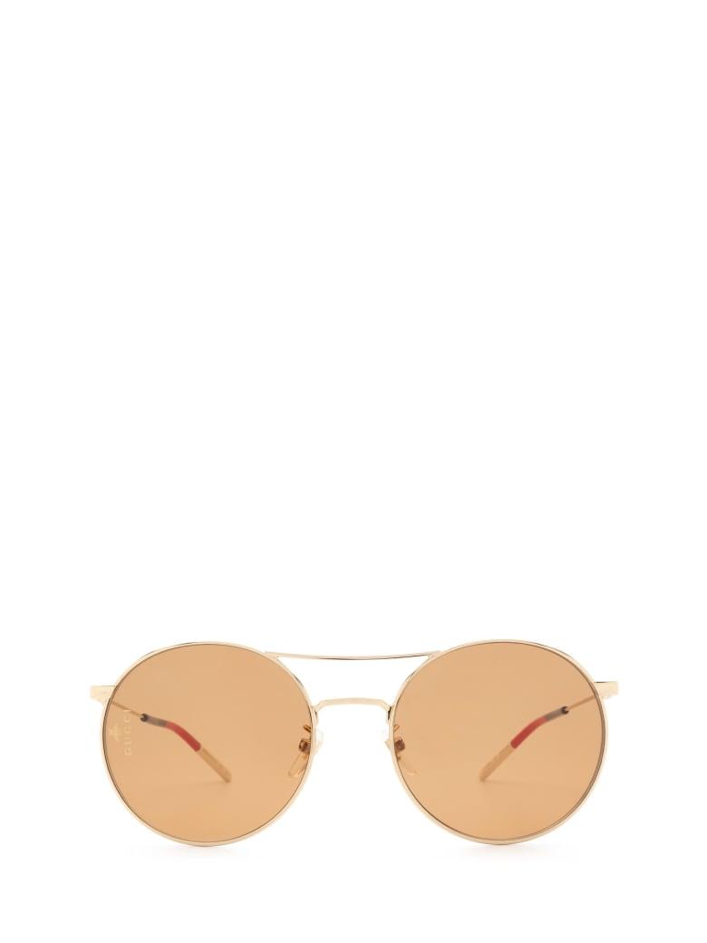 Gucci Gucci Gg0680s Gold Sunglasses - Gold