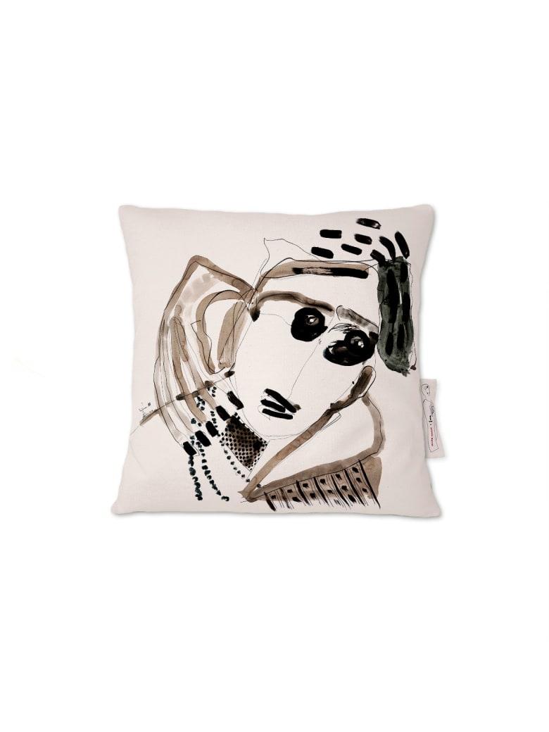 Kiasmo Cushions Amarcord Vi - Black/White