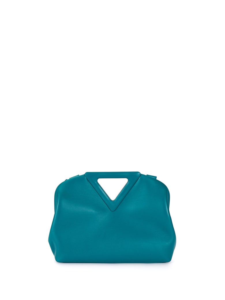 Bottega Veneta Point Medium Mallard Handbag