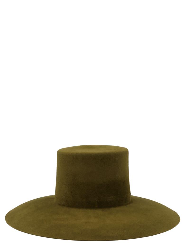 Alberta Ferretti Hat - Green