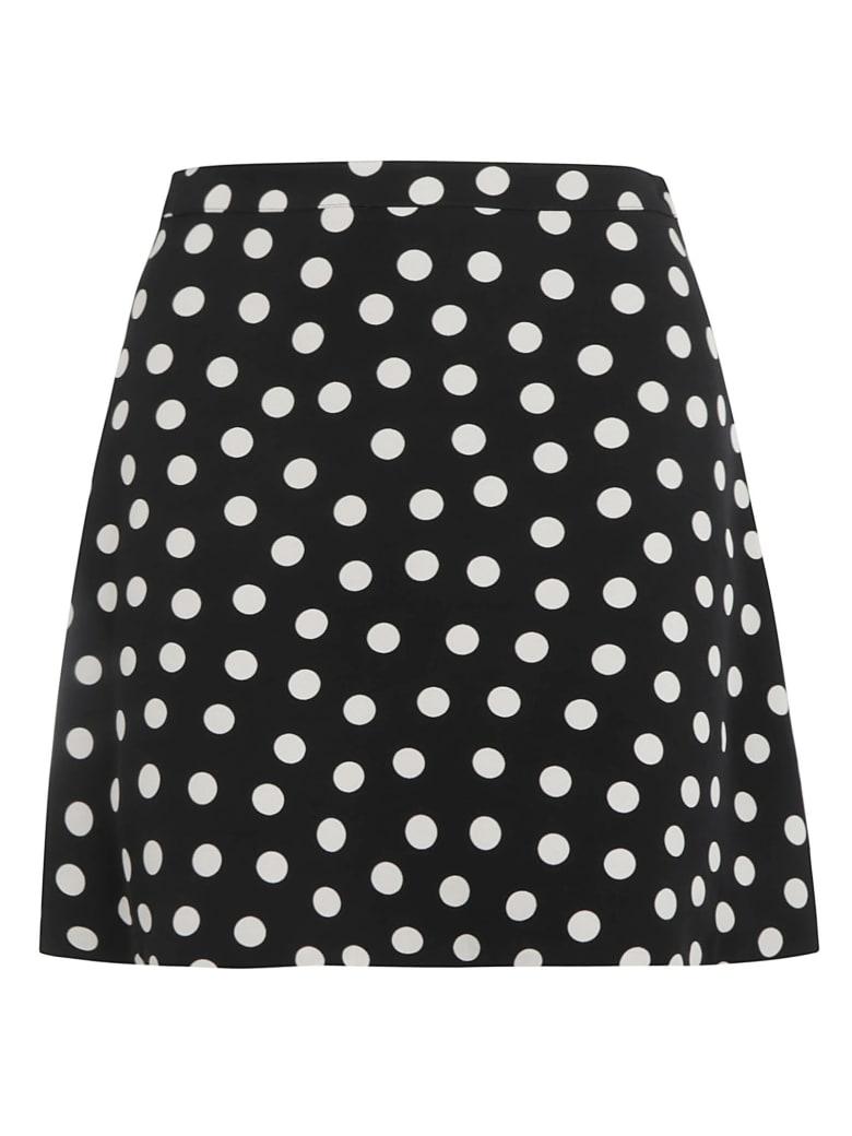 Saint Laurent Jupe Skirt - Marine Craie