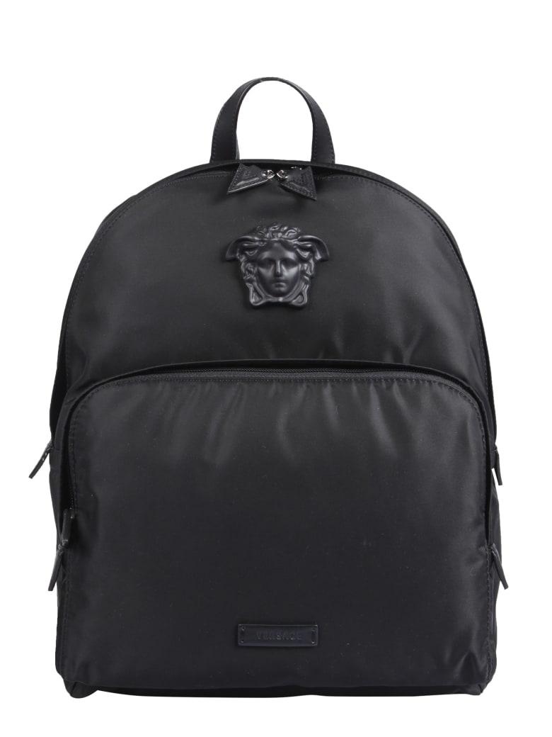 Versace Nylon Backpack - NERO