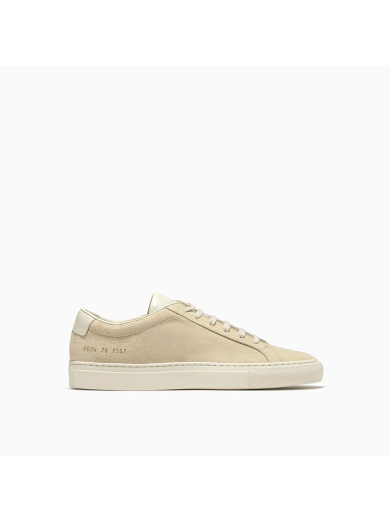 Common Projects Achilles Suede Contrast Sneakers 6038 - 1302