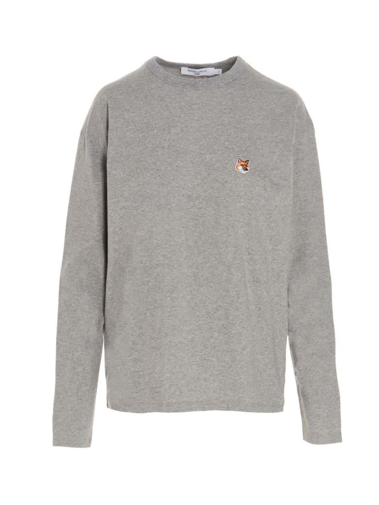 Maison Kitsuné 'fox Head' T-shirt - Grey