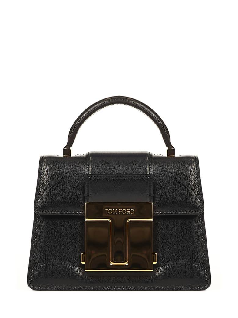 Tom Ford 001 Small Shoulder Bag - Black
