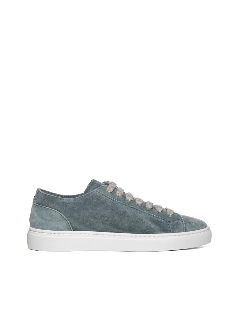 Doucal's Sneakers - Wash malva f do bianco