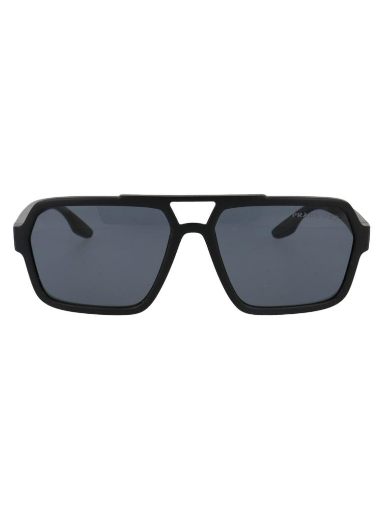 Prada 0ps 01xs Sunglasses - DG002G BLACK RUBBER
