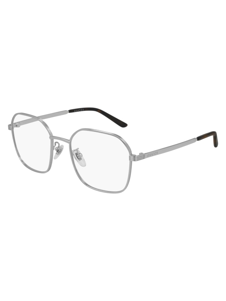 Gucci GG0946OA Eyewear - Silver Silver Transpa