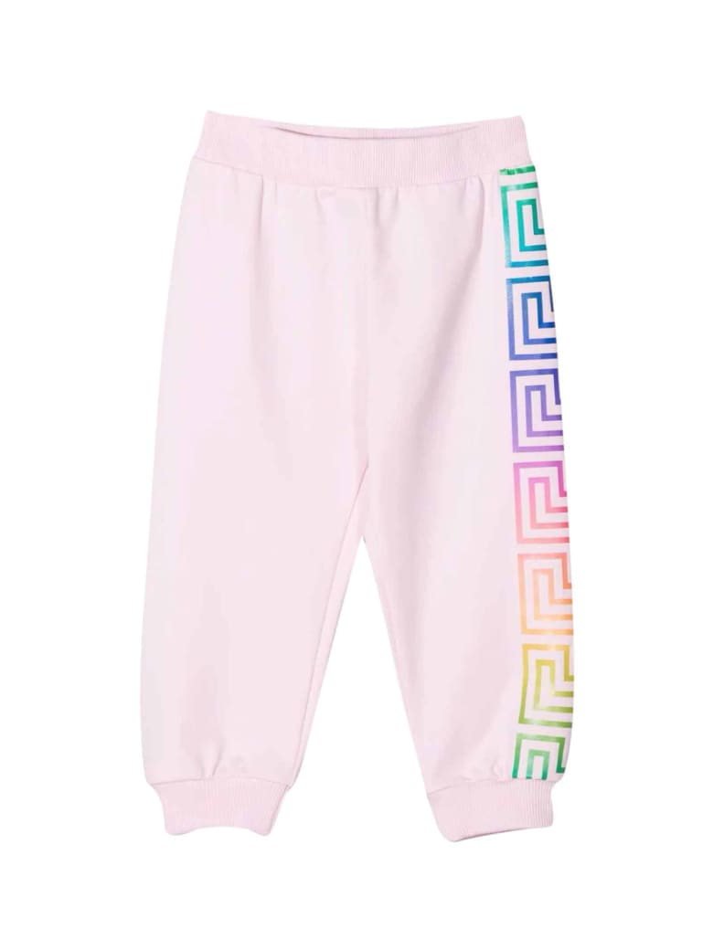 Versace Young Unisex Pink Jogger - Multicolor
