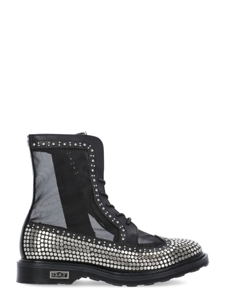 Cult Leather Sabbath Boot - BLACK