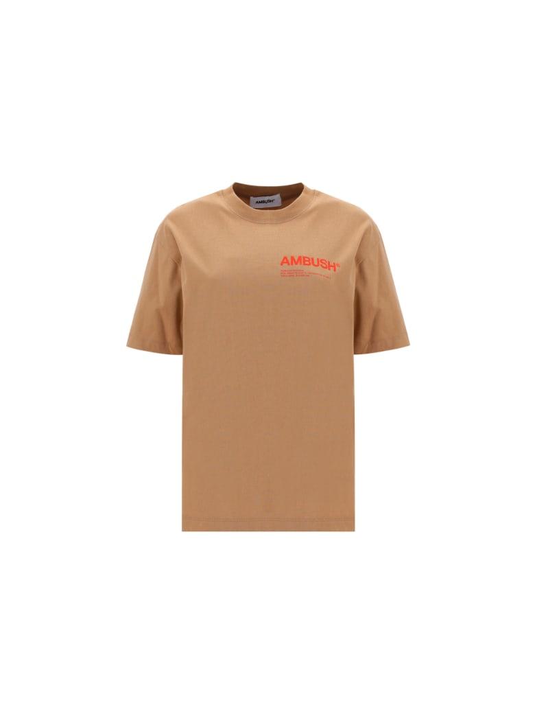 AMBUSH T-shirt - Natural valiant