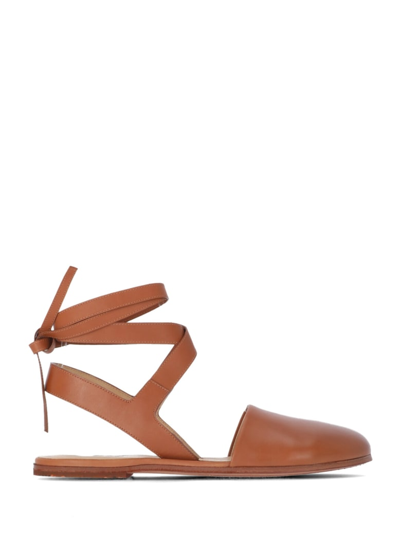 Marsell Leather Marcella Flat Shoes - SUGHERO