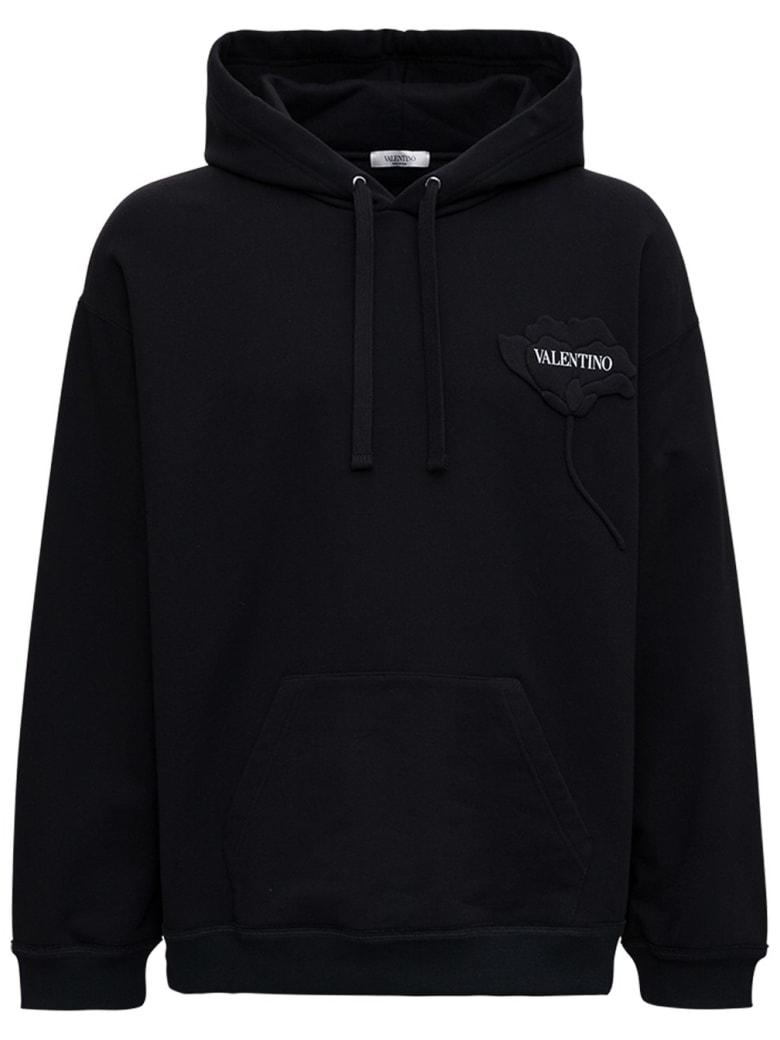 Valentino Jersey Sweatshirt - Black