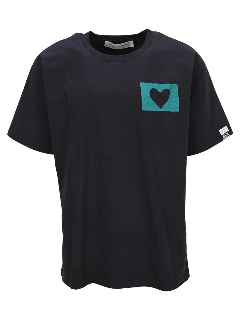 Golden Goose Tshirt Artu Heart - Nera
