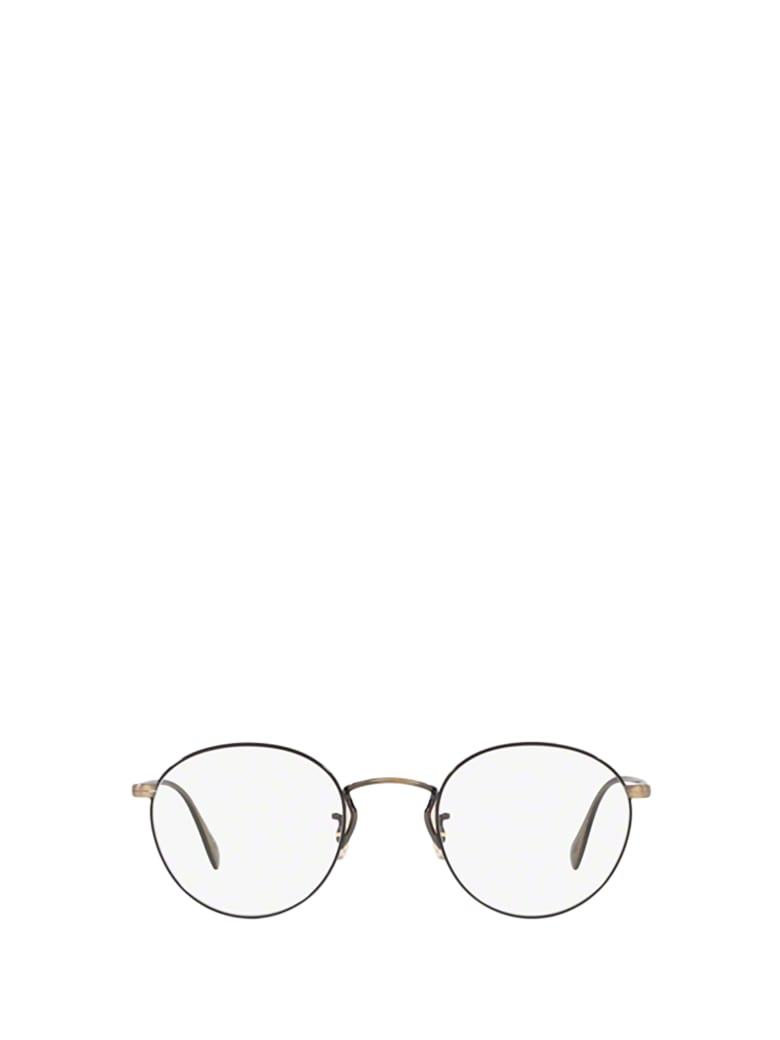 Oliver Peoples Oliver Peoples Ov1186 New Antique Gold / Black Glasses - New Antique Gold / Black