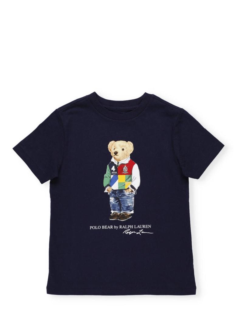 Ralph Lauren Polo Bear T-shirt - CRUISE NAVY