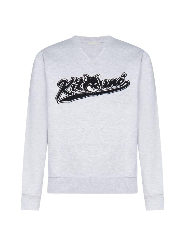 Maison Kitsuné Fleece - Grey melange