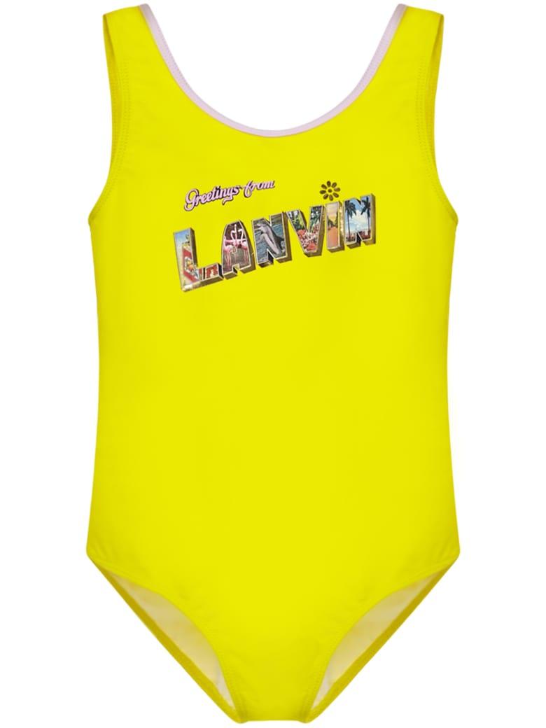 Lanvin Kids Swimsuit - Yellow