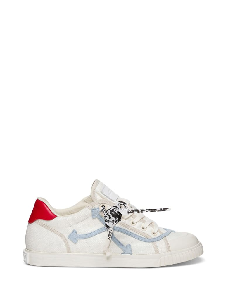 Off-White New Low Vulcanized Sneakers - White