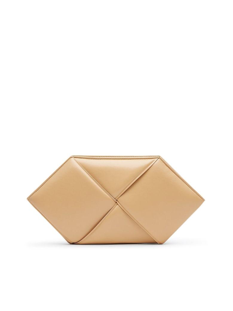 Bottega Veneta Case Braided - Rose Beige Gold
