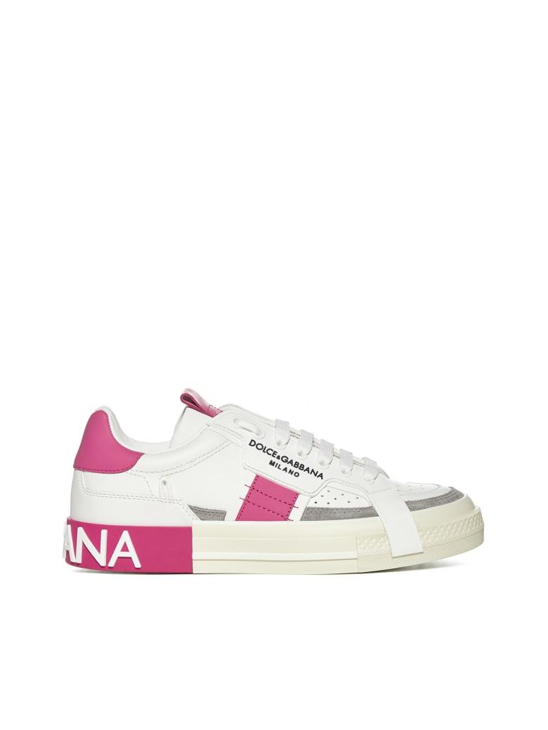 Dolce & Gabbana Sneakers - Grigio fuxia