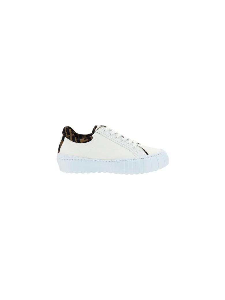 Fendi Sneakers - Uwhit+tab.ne+u.whit