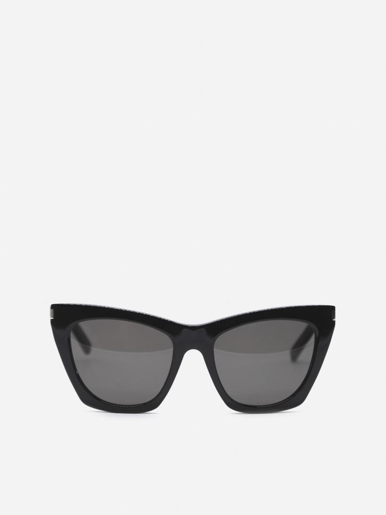 Saint Laurent New Wave Sl 214 Kate Sunglasses - Black