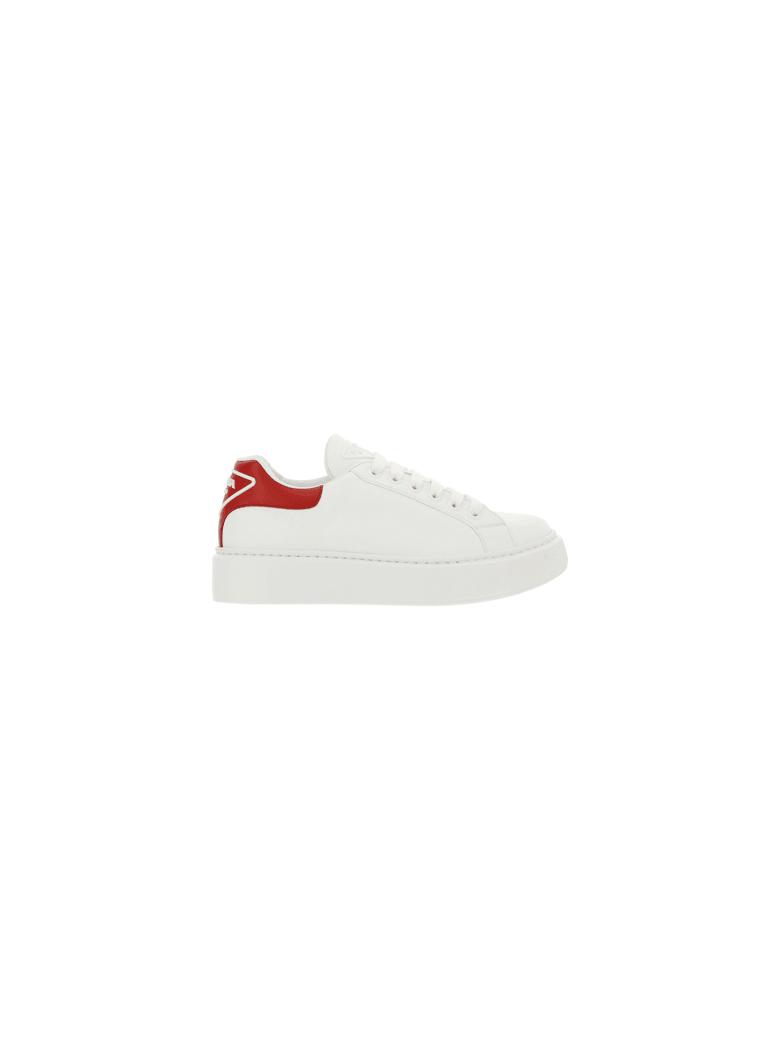 Prada Sneakers - Bianco+rosso