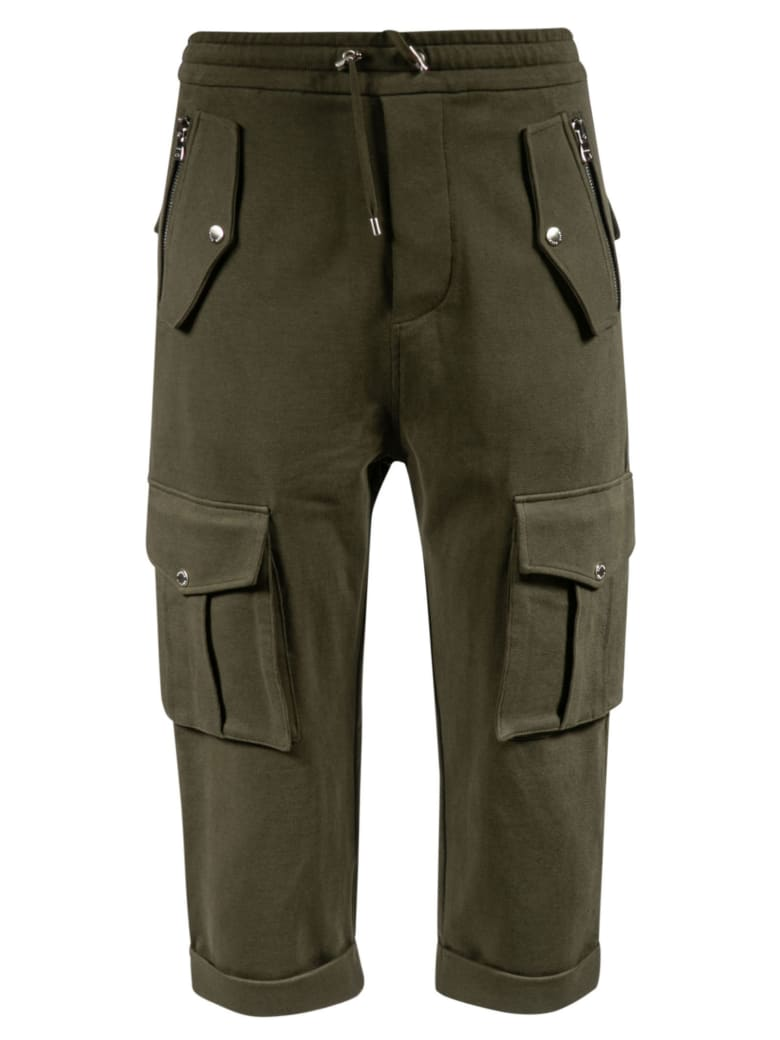 Balmain Cargo Trousers - Green