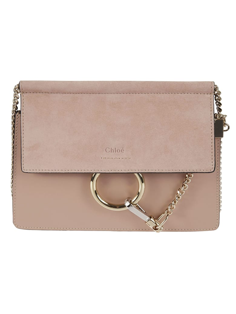 Chloé Faye Shoulder Bag - Misty Rose